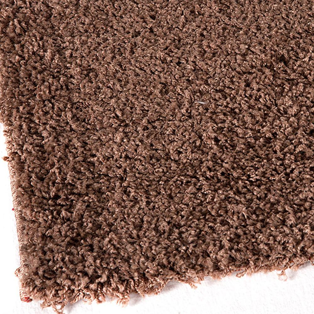 Astro Taupe Large Shag Mat 70x130cm-Large Shag Mat-Rugs 4 Less