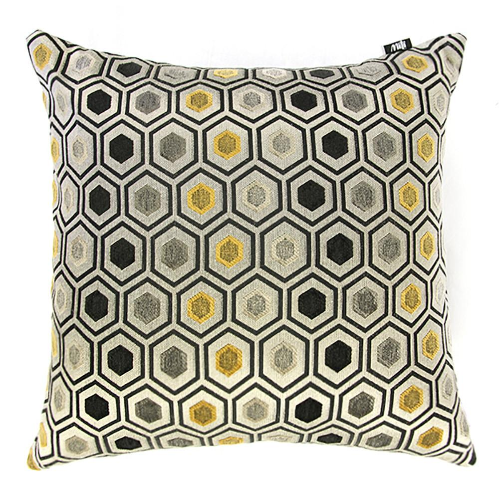Croatia Cushion F8981 Mustard-Cushion-Rugs 4 Less