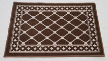 DM40 Ozzie Large Indoor Mat Brown 67cm x 150cm