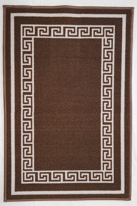 DM50 Ozzie Indoor Mat Brown 67cm x 120cm