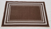 DM60 Ozzie Indoor Mat Brown 67cm x 120cm