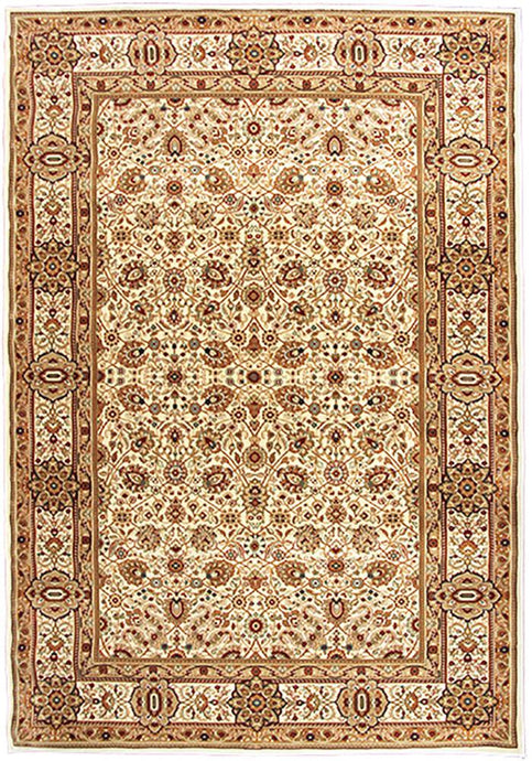 Elegance 1339 Cream Traditional Rug 160x230cm-Traditional Rug-Rugs 4 Less