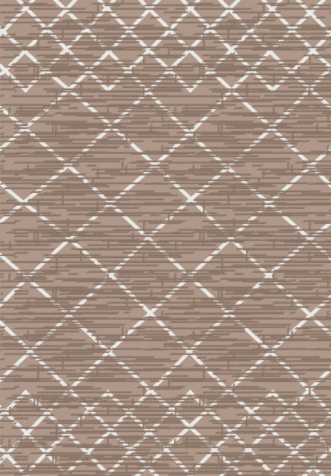 Metro 309 Rug in Brown Colour | Cheap Rug Brisbane
