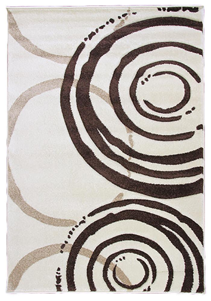 Monte-Carlo 7687A Cream-FD Large Mat 80x130cm-Large Modern Mat-Rugs 4 Less