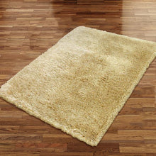 Pluto Latte Small Shag Rug 110x160cm-Small Shag Rug-Rugs 4 Less