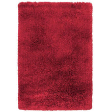 Pluto Red Small Shag Rug 110x160cm-Small Shag Rug-Rugs 4 Less