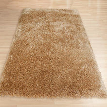 Pluto Biscuit Shag Rug 150x220cm-Shag Rug-Rugs 4 Less