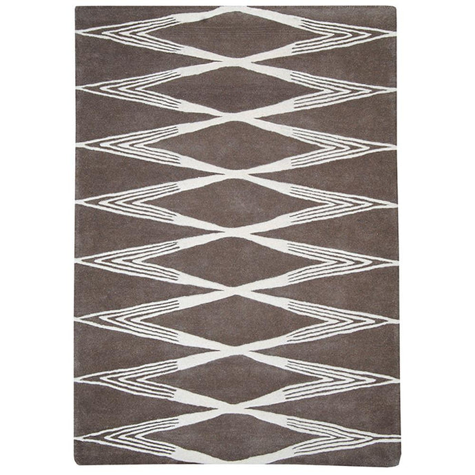 Province Wool Rug Diamond 160x230cm-Wool Rug-Rugs 4 Less