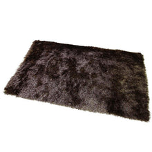 Satin Brown Shag Mat 55x85cm-Shag Mat-Rugs 4 Less