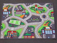 Street Derby Kids Road Rug in Size 90cm x 130cm-Rugs 4 Less