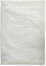 Border Cotton Bath Mat Cream-Bath Mat-Rugs 4 Less