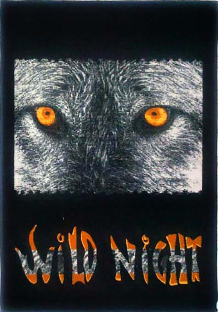 Animal Large Rug Wild Night 140x190cm-Animal Rug-Rugs 4 Less