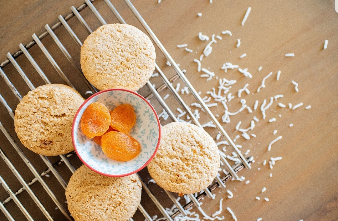 Dairy & soy free Apricot and coconut Lactation cookies - 20