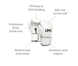UMA RT-41 Boxing Gloves - Hook & Loop - UMA Fight Gear