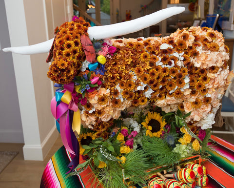 Floral Bevo by Junior at The Garden Gate for Turner Wedding