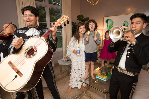 Mariachis for the Turner Engagement Party
