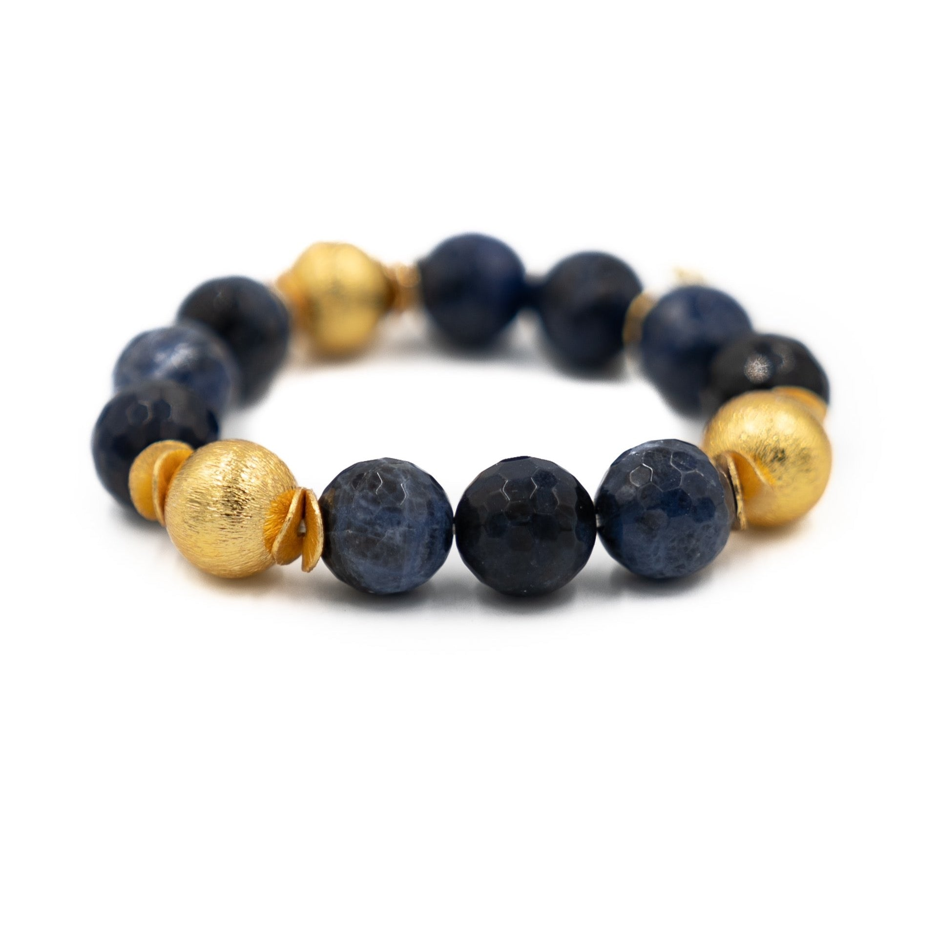 Addison Bracelet, Faceted Sodalite
