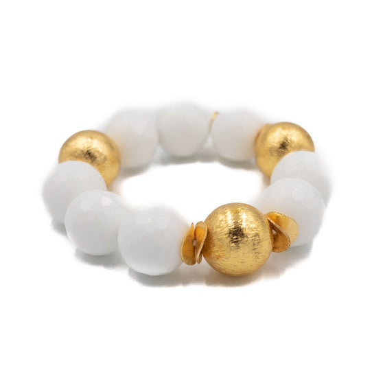 Addison Bracelet, White