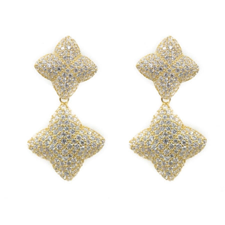 Alicia Graduated Earring, Gold