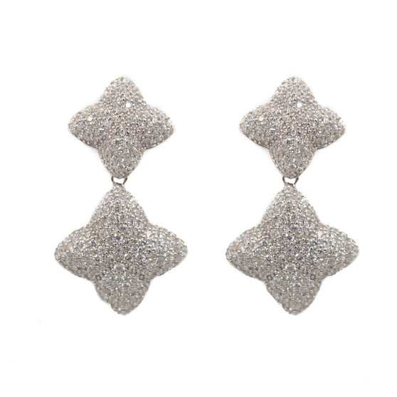 Alicia Graduated Earring, Silver