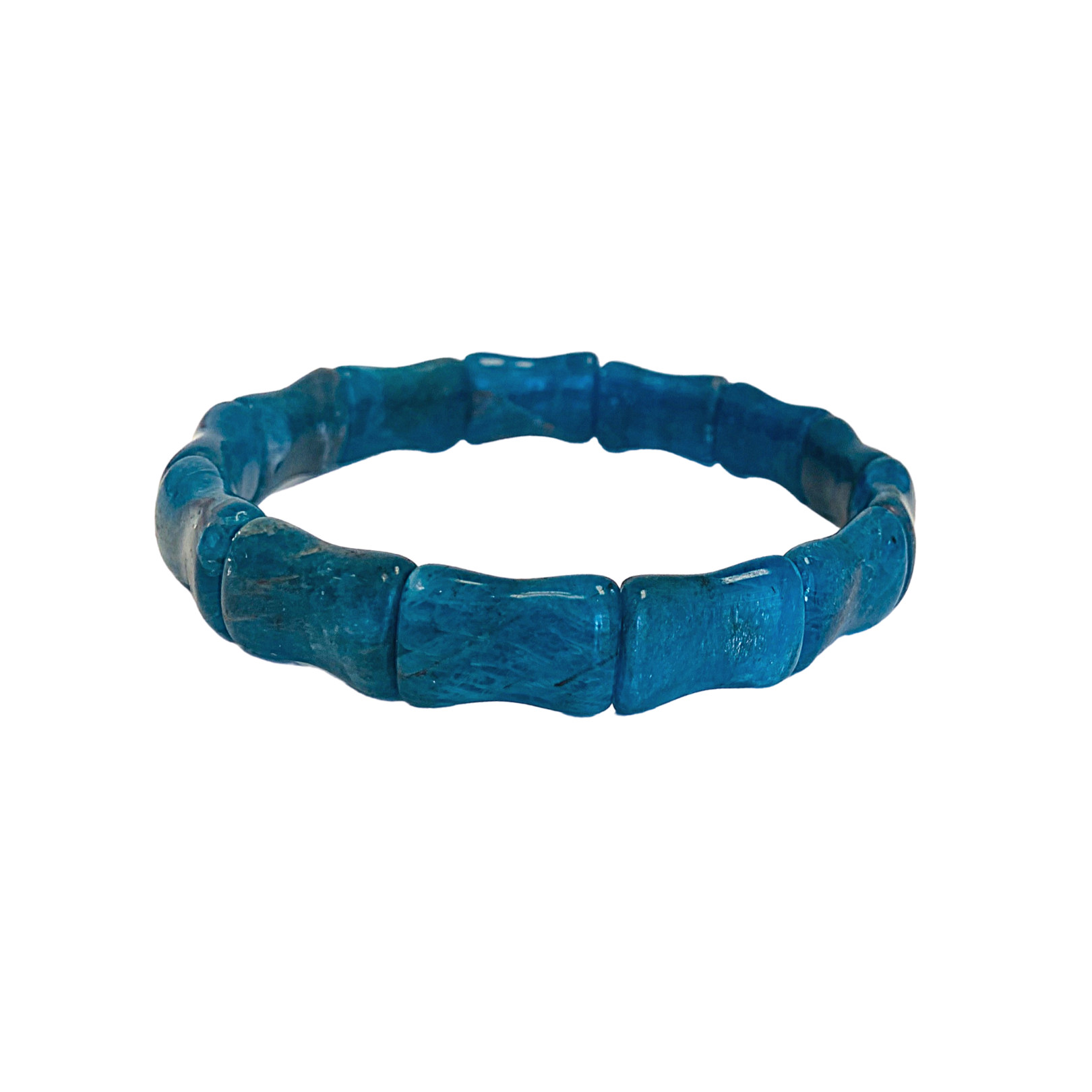 Bamboo Beach Bangle, Apatite