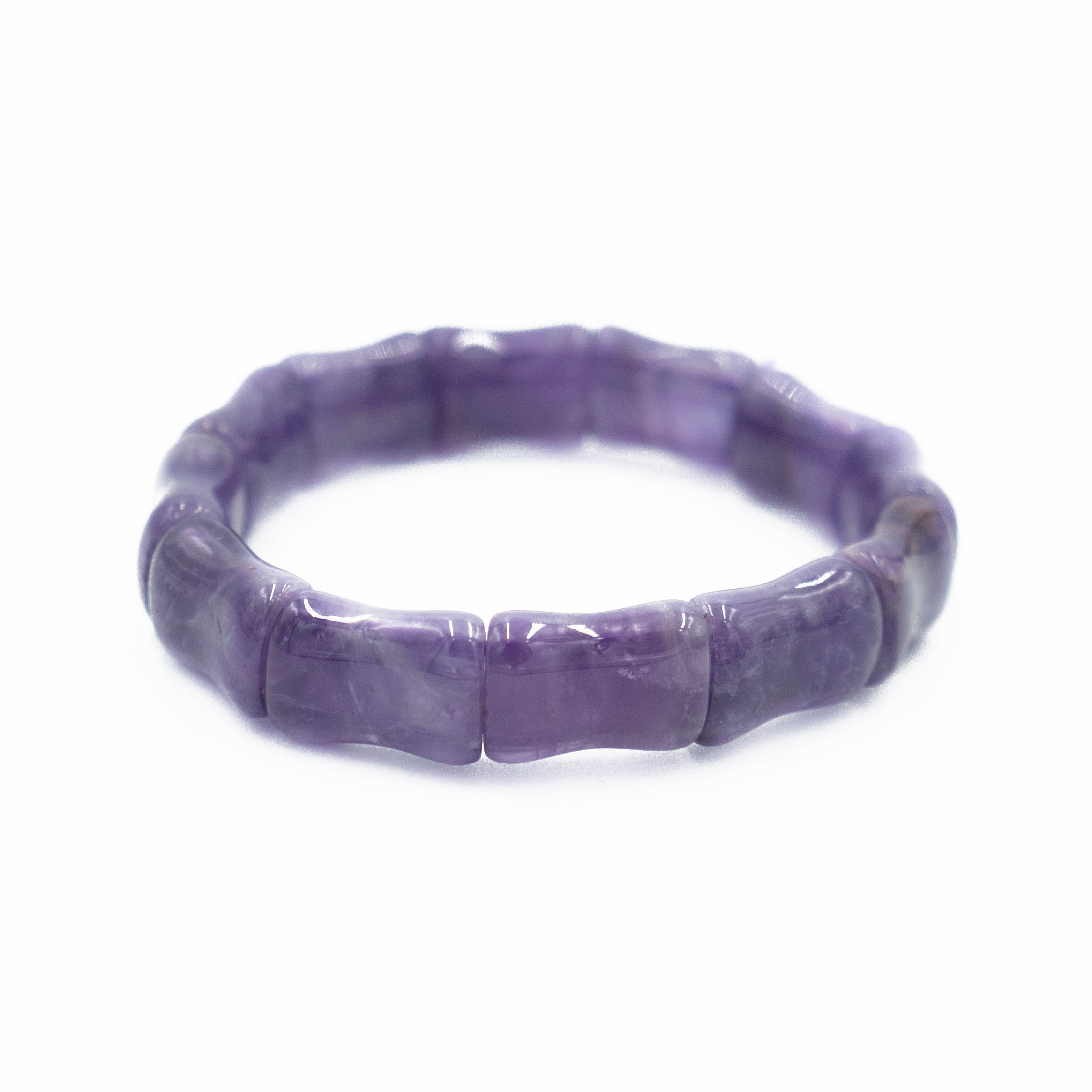 Bamboo Beach Bangle, Amethyst