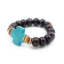 Emily Bracelet, Black Ox Bone