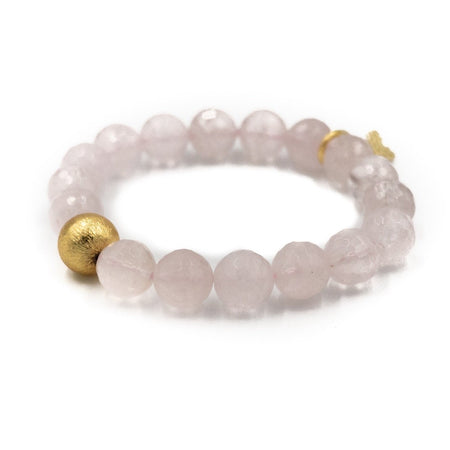 Brooke Bracelet, Rose Quartz