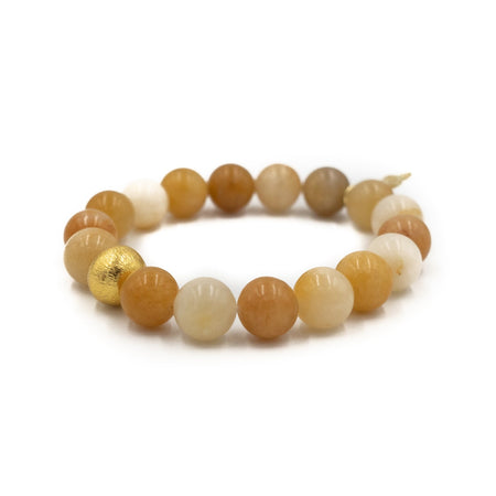 Brooke Bracelet, Yellow Aventurine