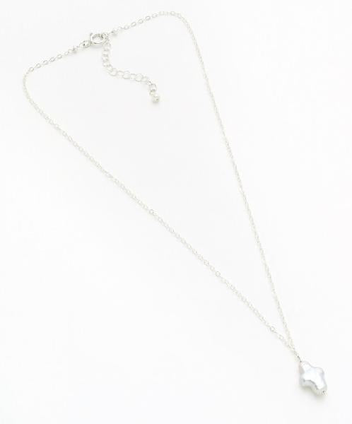 Caroline Necklace, Silver