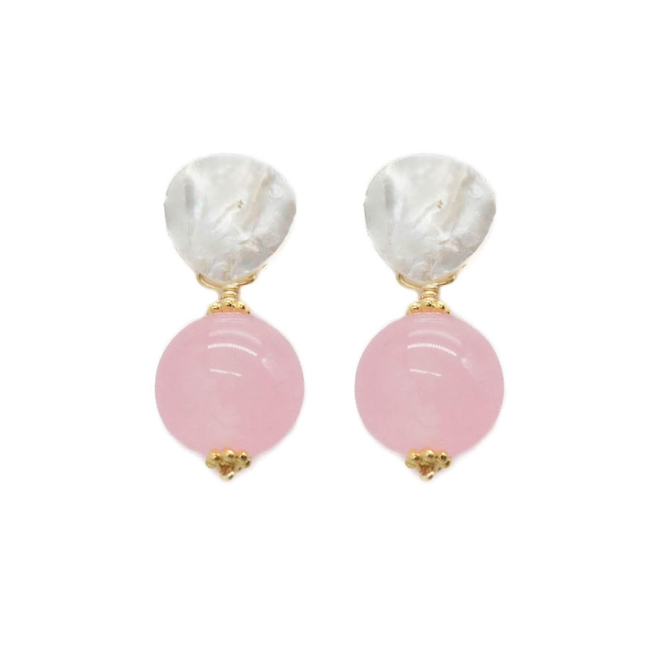 Claire Earring, Bubblegum Pink