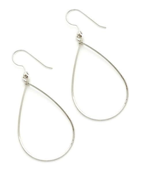 Sara Earring, Medium Silver