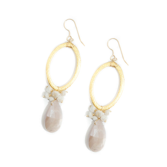 Haverford Earring, Moonstone