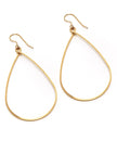 Sara Earring, Large, Gold