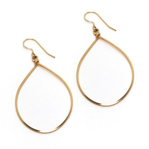 Sara Earring, Medium Gold
