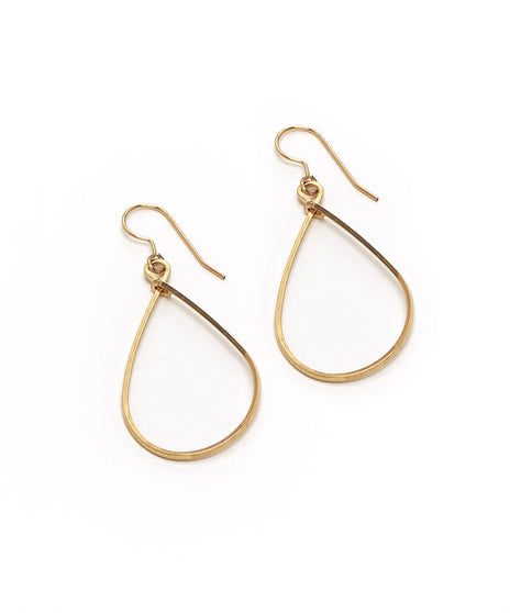 Sara Earring, Small Gold