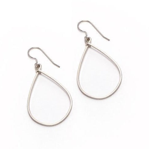 Sara Earring, Small Silver