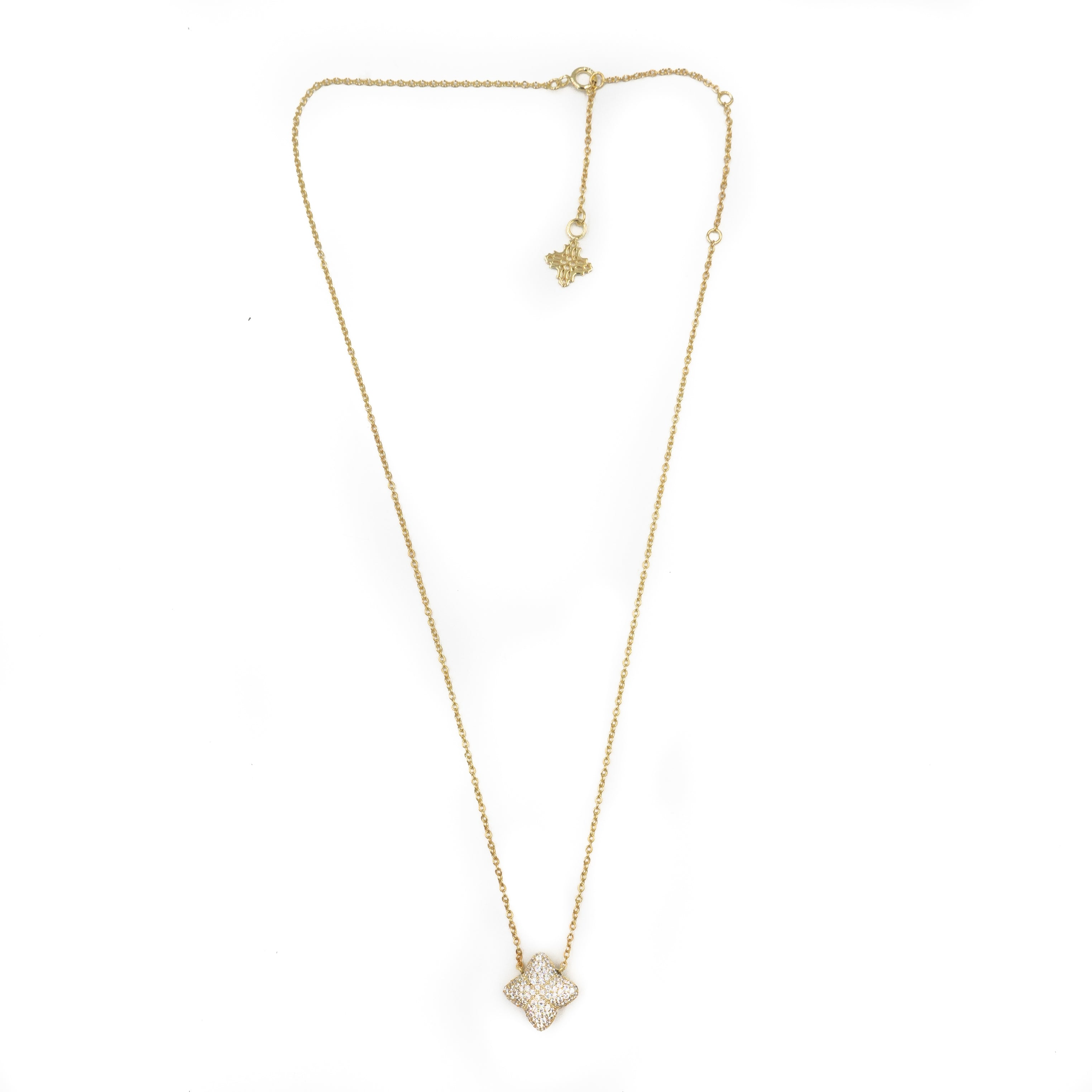 Alicia Necklace, Gold