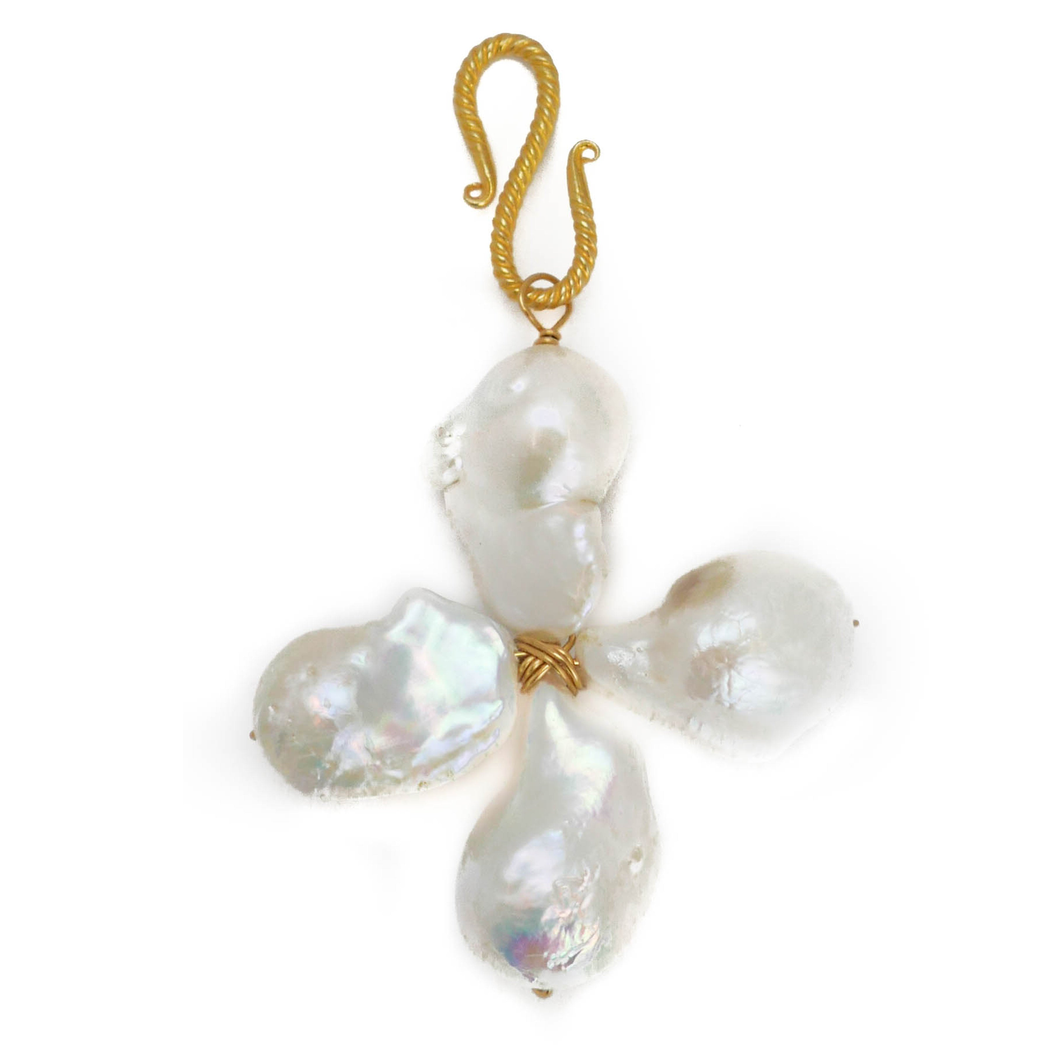 Cross Baroque Charm, White