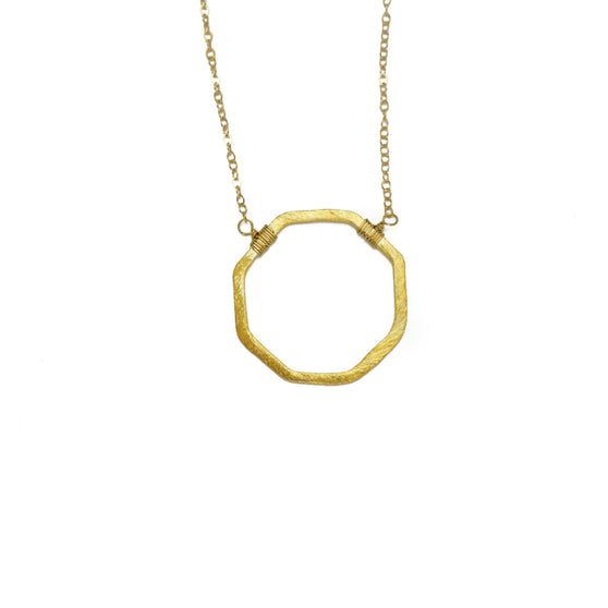Patton Necklace, Gold