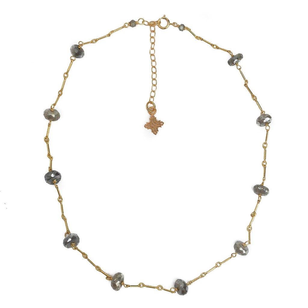 Miriam Necklace, Labradorite