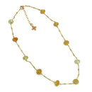 Miriam Necklace, Yellow Opal