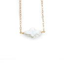 Gracie Necklace, Gold