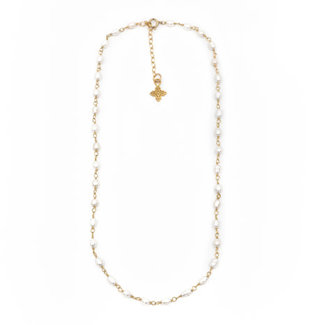 Rebecca Necklace, Gold