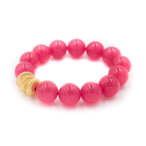 Sheldon Bracelet, Hot Pink
