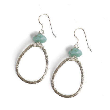 Lyssa Earring, Aqua, Small