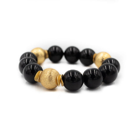Addison Bracelet, Black Onyx