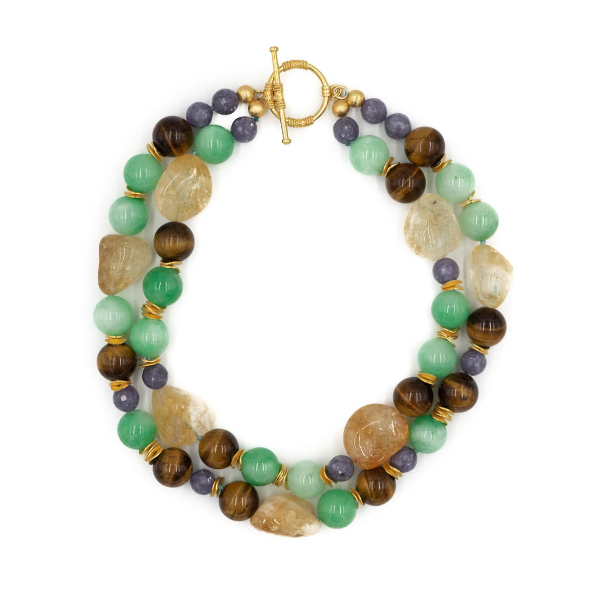 Kathleen Necklace, Citrine