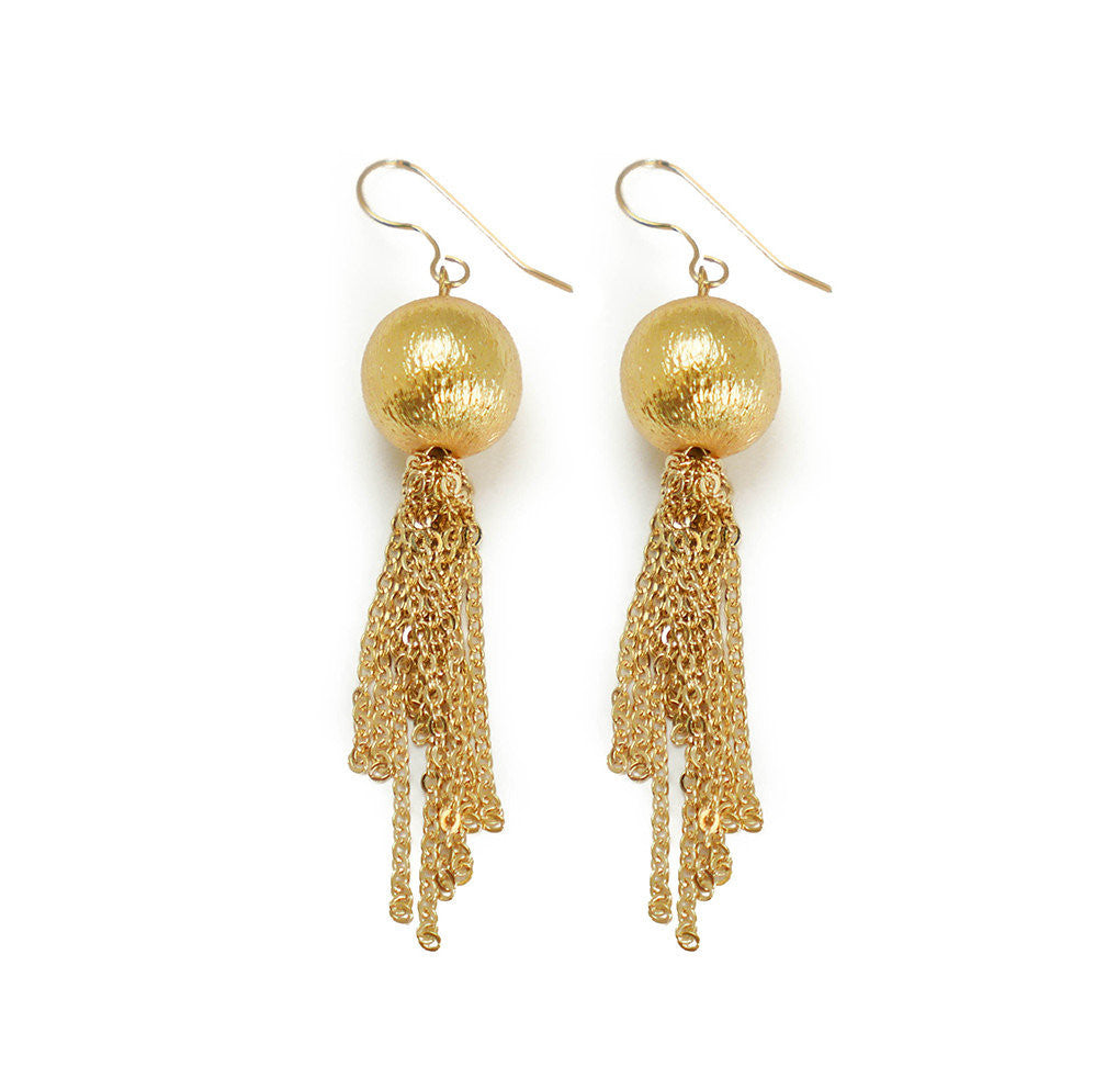 Morgan Earring, Gold