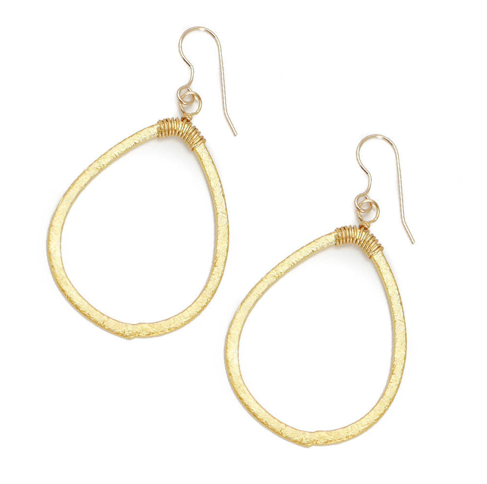 Larkin Earring, Gold